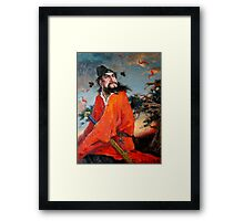Zhong Kui, 钟馗 - Portrait 3 Framed Print