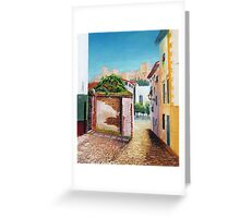 The Alhambra from the Hill of the Gypsies, Granada Greeting Card