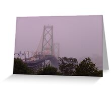 MacDonald Bridge Greeting Card