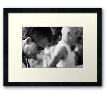 Poised Framed Print