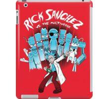 Rick Vs the Multiverse shirt iPad Case/Skin