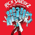 Rick Vs the Multiverse shirt by lavalamp