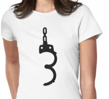 Handcuffs Womens Fitted T-Shirt