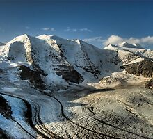 Piz Palü and Moteratsch glacier by peterwey