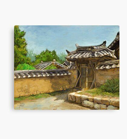 Korean Gate Canvas Print