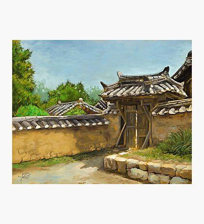 Korean Gate Photographic Print