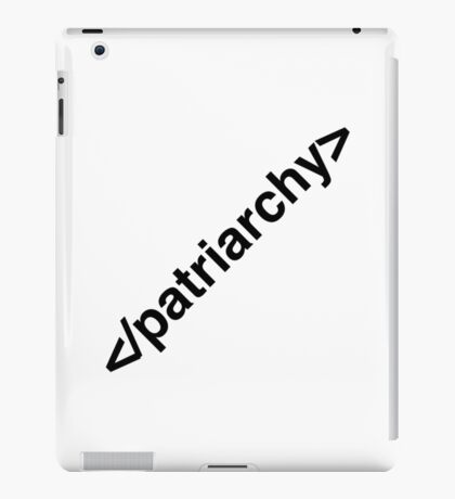 End Patriarchy iPad Case/Skin