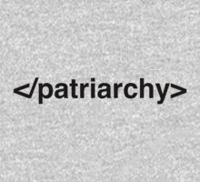 End Patriarchy Kids Clothes