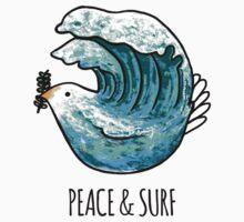 Peace & Surf Kids Tee