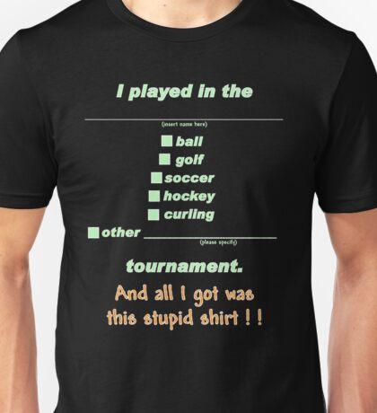 Tournament Wear Dark Unisex T-Shirt
