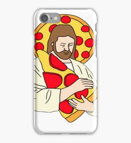 Pizza Jesus iPhone Case/Skin