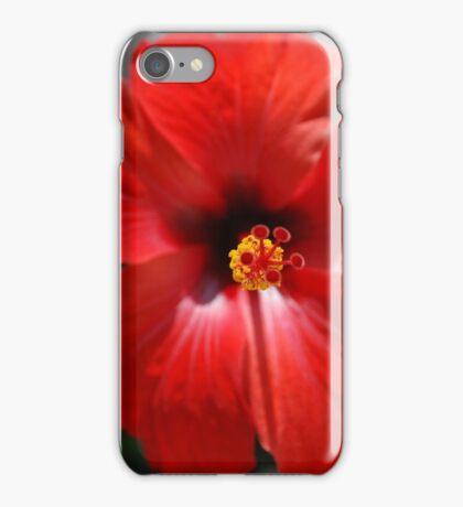 Scorching flower iPhone Case/Skin