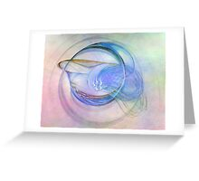 Blue Flame-Available As Art Prints-Mugs,Cases,Duvets,T Shirts,Stickers,etc Greeting Card