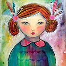 Whimsical Girl by AnnaBaria