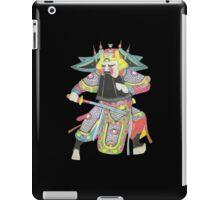 china warrior 1 black iPad Case/Skin