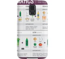 Cook Smarts' Guide to Adding Flavor with Aromatics Samsung Galaxy Case/Skin