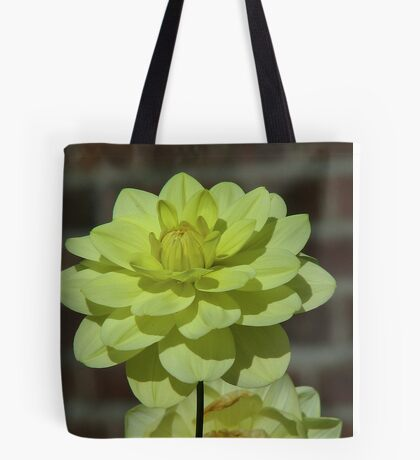 A Yellow Dahlia Tote Bag