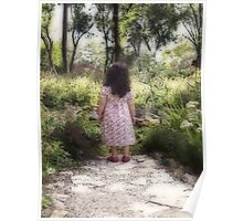 An Enchanted Garden Poster