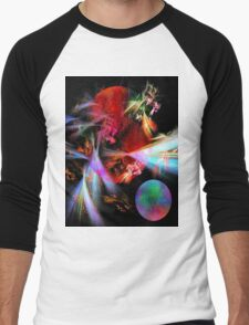 Variable Dimensions-Available As Art Prints-Mugs,Cases,Duvets,T Shirts,Stickers,etc Men's Baseball ¾ T-Shirt