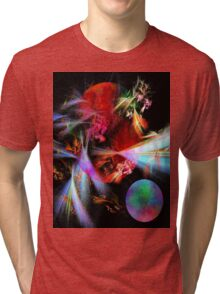 Variable Dimensions-Available As Art Prints-Mugs,Cases,Duvets,T Shirts,Stickers,etc Tri-blend T-Shirt