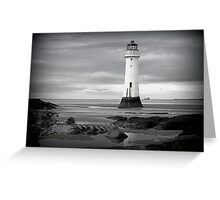 Perch Rock Lighthouse.  Greeting Card