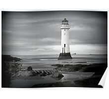 Perch Rock Lighthouse.  Poster