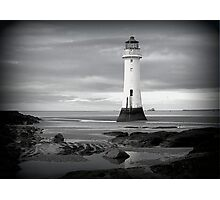 Perch Rock Lighthouse.  Photographic Print
