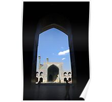 Esfahan Mosque Poster