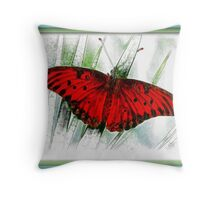Resting In The Morning Sun Throw Pillow