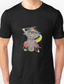china warrior black Unisex T-Shirt