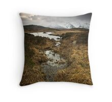 Loch Nah-Achlaise Throw Pillow
