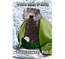 Groundhog Day Photographic Print