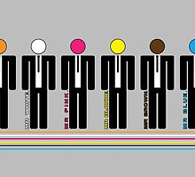 Reservoir Dogs - Lineup by jackallum