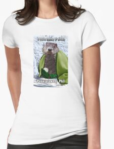 Groundhog Day Womens Fitted T-Shirt