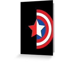 Stars and Stripes - The Winter Soldier Greeting Card