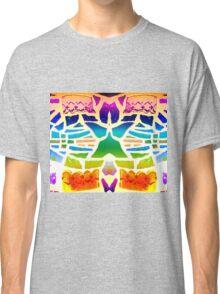 Stain Glass Crosses Duvet Classic T-Shirt