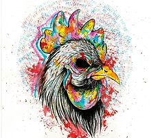 Mr. Rooster by Anchimia