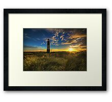 Spurn Lighthouse  Framed Print