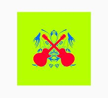Colorful Electric Guitar Artwork Unisex T-Shirt