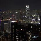 Hong Kong by night - China by chrisfx