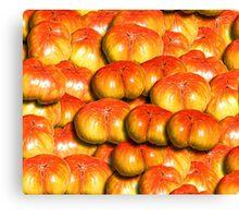 Tomato Duvet Canvas Print
