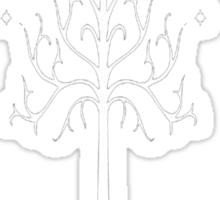 The white tree Sticker