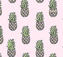 pineapple print by latoula