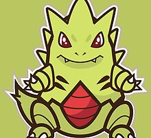 Tyranitar by Eat Sleep Poke Repeat