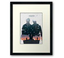 True Detective - The Long Bright Dark Framed Print