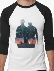True Detective - The Long Bright Dark Men's Baseball ¾ T-Shirt