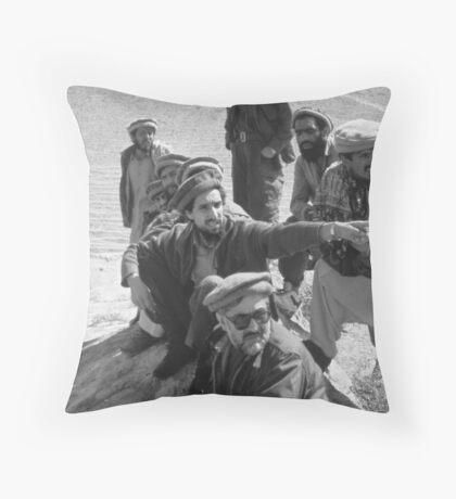 MUJAHIDEEN Throw Pillow