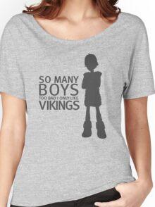 HTTYD - Viking (Black Print) Women's Relaxed Fit T-Shirt