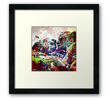 """"""" The couple is a meeting of two people who make the pair"""" Framed Print"""