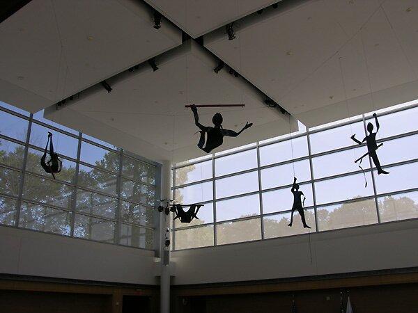 ART UNDER GLASS  @ Tilles Center - Spirit of Movement by Debra Ann Kasimakis by Pandadoll1